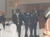 Consul General Kwadjo Mawutor with invited officers from York Regional Police