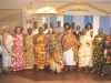 Nsuta Omanhene and his entourage with Achievement Awards organizers