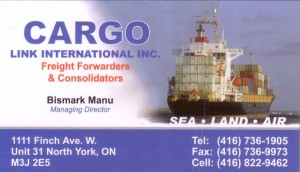 Cargo Link International Inc