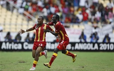 ANGOLA AFRICAN CUP SOCCER