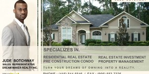 Jude Botchway – Dream Maker Realty Inc