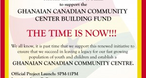 Toronto Ghanaian Community Center Building Project