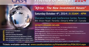 4th Annual FOA Economic Development Conference Toronto