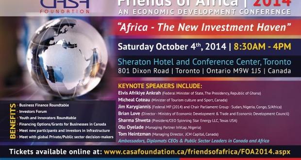 4th Annual FOA Economic Development Conference Toronto
