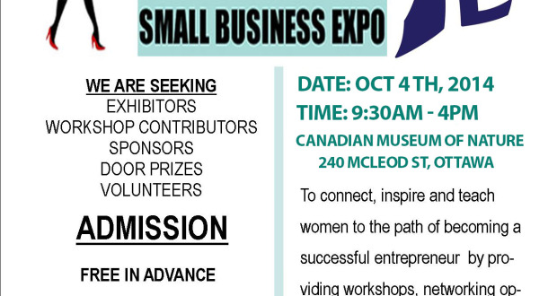 Immigrant Women's Small Business Expo (Ottawa and Toronto)
