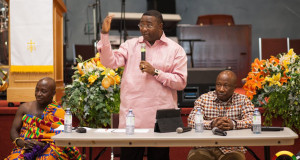 Ghanaians In Toronto Town Hall Meeting With Hon. Minister Elvis Afriyie- Ankrah