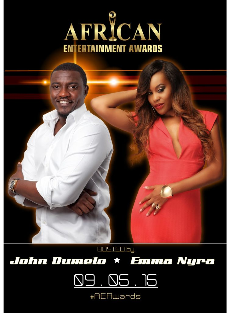 african entertainment awards 2015 canada. john dumelo. emma nyra