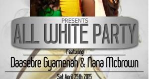 Daasebre Gyamenah and Nana McBrown All White Party (Toronto)