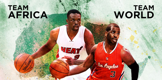NBA Africa Game 2015 in Johannesburg to Feature Team Africa vs. Team World