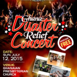 Ghana Floods Disaster Relief Musical Concert (July 12th 2015)