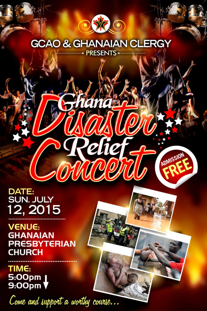 disaster relief concert