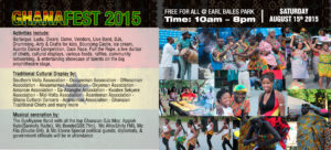 Toronto Celebrates GhanaFest Aug 15th