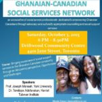 Official Launch Of Ghana Canadian Social Services Network