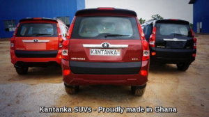 Kantanka SUVs - Colour - red-wine-black (Ghana Made cars)