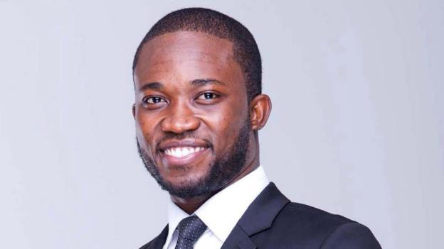 Since moving to Ghana in 2012 from Virginia in the US, Emmanuel Gamor, 30, has worked for Google, YouTube and Nestle,(Credit: Courtesy of Emmanuel Gamor)