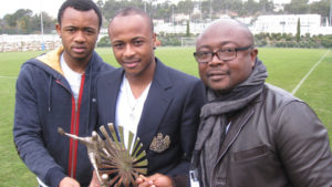 Abedi-Pele-with-his-sons-Andre-and-Jordan-Ayew