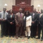 Ghanaian Parliamentary Delegation visits New York State Senate