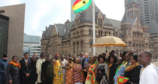 The City of Toronto Honors Ghana During Ghana Independence Week