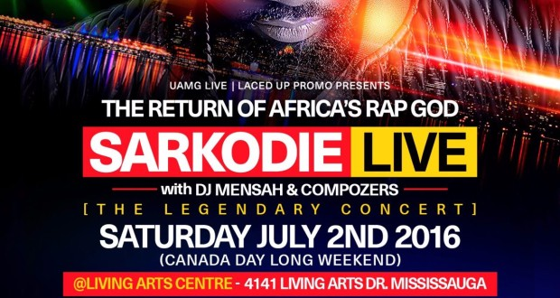 Sarkodie Live in Toronto