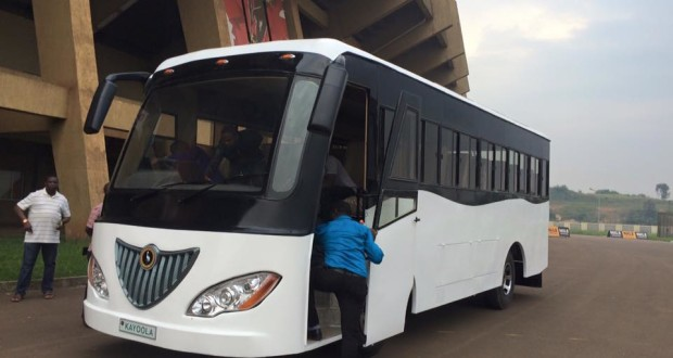 Africa's 1st Solar-Powered Bus Debuts in Uganda