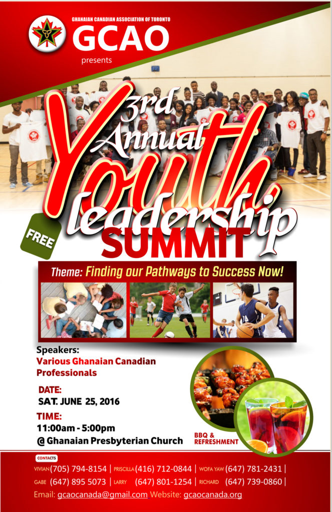 youth summit flyer