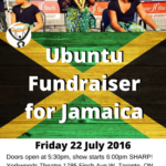 Ubuntu Group Fundraiser For Jamaica