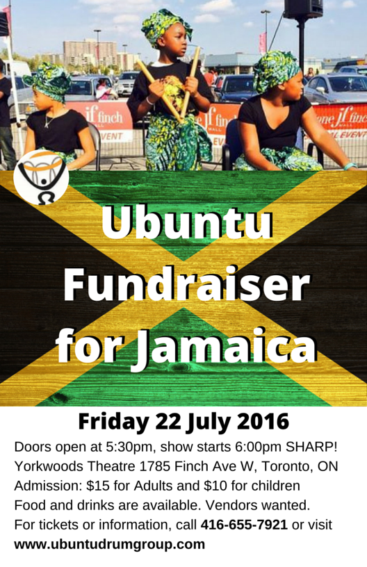 Ubuntu Fundraiser - July 2016